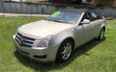 2008 Cadillac CTS for sale at MISSION AUTOMOTIVE ENTERPRISES in Plant City FL