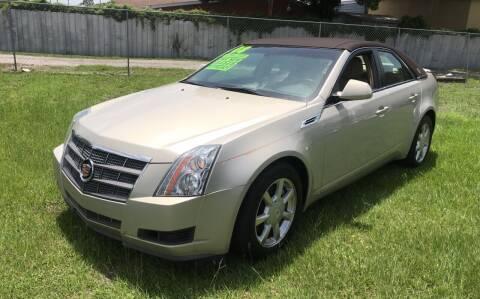 2008 Cadillac CTS for sale at MISSION AUTOMOTIVE ENTERPRISES in Plant City FL