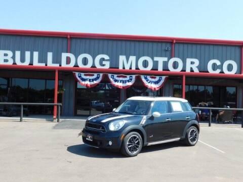 2016 MINI Countryman for sale at Bulldog Motor Company in Borger TX