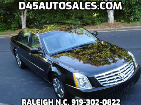 2006 Cadillac DTS for sale at D45 Auto Brokers in Raleigh NC