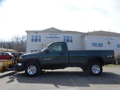 2007 GMC Sierra 2500HD Classic for sale at SOUTHERN SELECT AUTO SALES in Medina OH