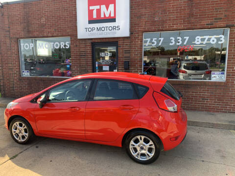 2015 Ford Fiesta for sale at Top Motors LLC in Portsmouth VA