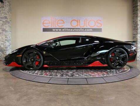 2017 Lamborghini Centenario for sale at Elite Autos LLC in Jonesboro AR