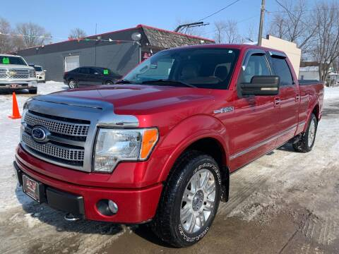 2010 Ford F-150 for sale at A & J AUTO SALES in Eagle Grove IA