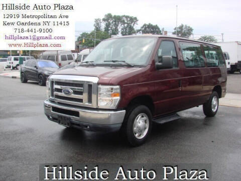 2011 Ford E-Series Wagon for sale at Hillside Auto Plaza in Kew Gardens NY