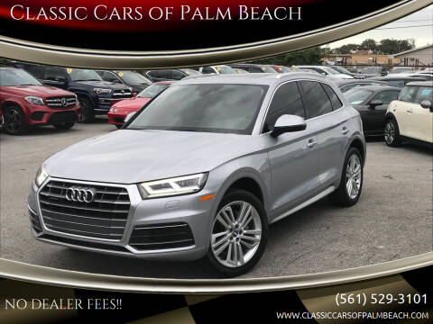 2018 Audi Q5 for sale at Classic Cars of Palm Beach in Jupiter FL