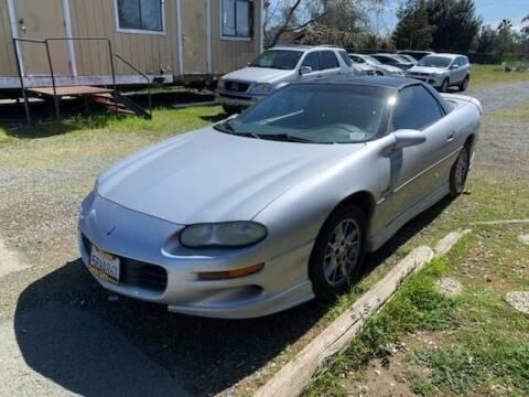 2002 Chevrolet Camaro for sale at Contra Costa Auto Sales in Oakley CA