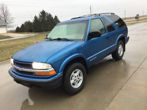 2000 Chevrolet Blazer for sale at Bam Motors in Dallas Center IA