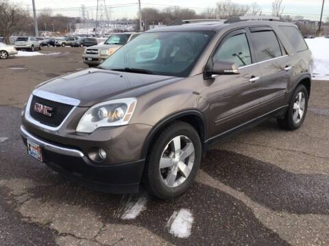 2011 GMC Acadia for sale at Sparkle Auto Sales in Maplewood MN