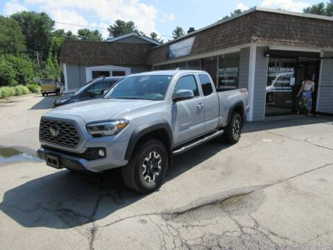 2021 Toyota Tacoma for sale at Millbrook Auto Sales in Duxbury MA
