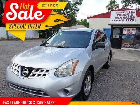 2013 Nissan Rogue for sale at EAST LAKE TRUCK & CAR SALES in Holiday FL