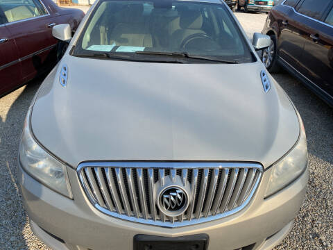 2011 Buick LaCrosse for sale at Bailey & Sons Motor Co in Lyndon KS