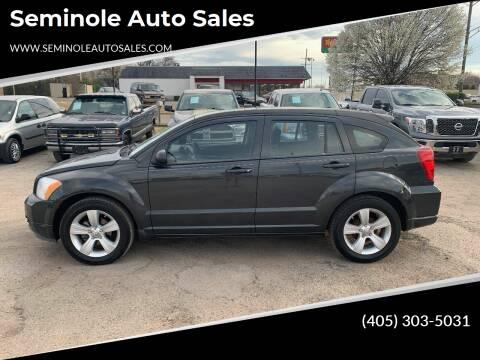 2011 Dodge Caliber for sale at Seminole Auto Sales in Seminole OK