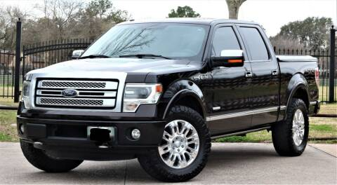 2013 Ford F-150 for sale at Texas Auto Corporation in Houston TX