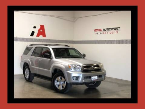 2006 Toyota 4Runner for sale at Royal AutoSport in Sacramento CA