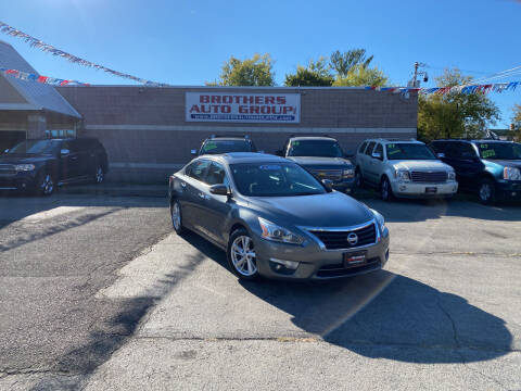 2015 Nissan Altima for sale at Brothers Auto Group in Youngstown OH
