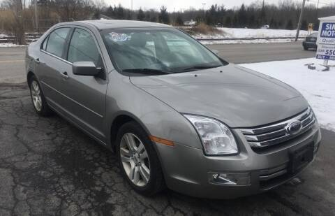 2009 Ford Fusion for sale at SIMPSON MOTORS in Youngstown OH