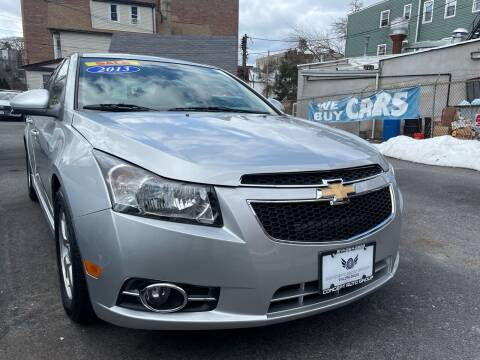 2013 Chevrolet Cruze for sale at Concept Auto Group in Yonkers NY