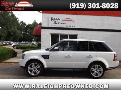2013 Land Rover Range Rover Sport for sale at Raleigh Pre-Owned in Raleigh NC