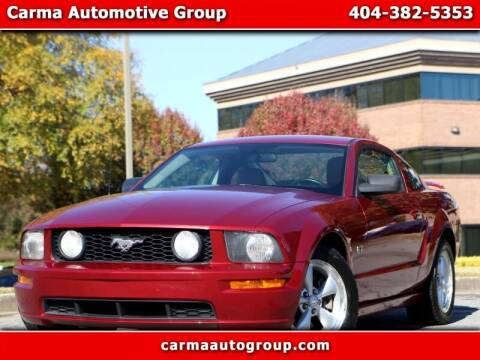 2007 Ford Mustang for sale at Carma Auto Group in Duluth GA