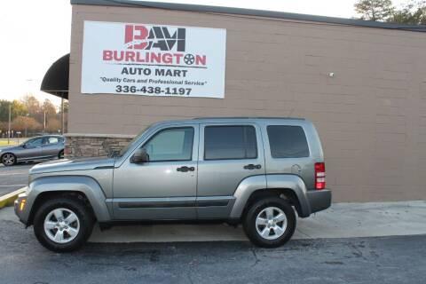 2012 Jeep Liberty for sale at Burlington Auto Mart in Burlington NC