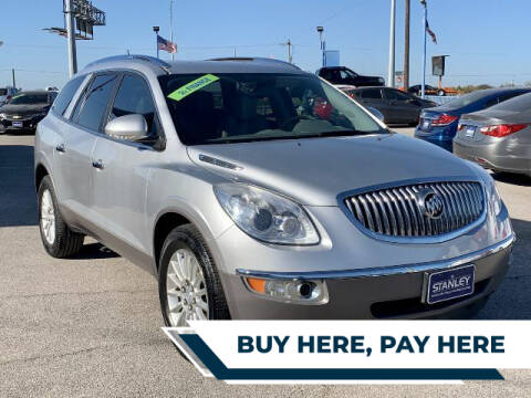 2012 Buick Enclave for sale at Stanley Direct Auto in Mesquite TX