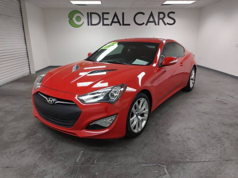 2015 Hyundai Genesis Coupe for sale at Ideal Cars in Mesa AZ