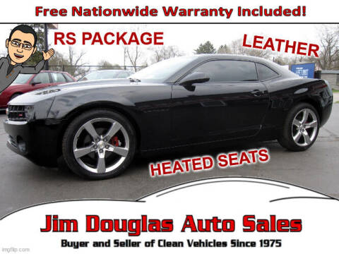 2011 Chevrolet Camaro for sale at Jim Douglas Auto Sales in Pontiac MI