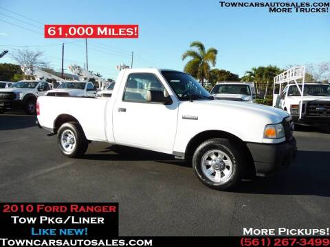 2010 Ford Ranger for sale at Town Cars Auto Sales in West Palm Beach FL
