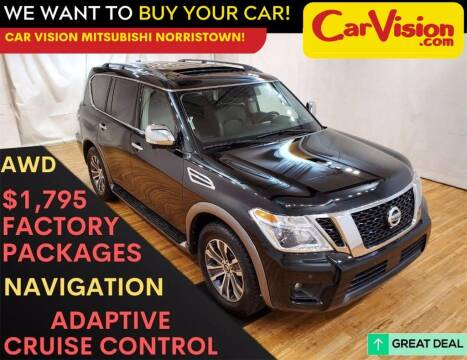 2019 Nissan Armada for sale at Car Vision Mitsubishi Norristown in Trooper PA