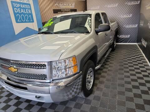 2012 Chevrolet Silverado 1500 for sale at X Drive Auto Sales Inc. in Dearborn Heights MI