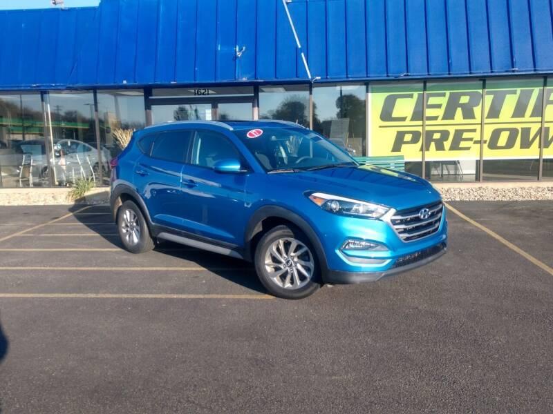 2017 Hyundai Tucson for sale at CITY SELECT MOTORS in Galesburg IL