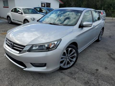 2013 Honda Accord for sale at Mars auto trade llc in Kissimmee FL