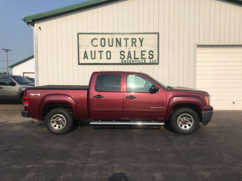 2009 GMC Sierra 1500 for sale at COUNTRY AUTO SALES LLC in Greenville OH