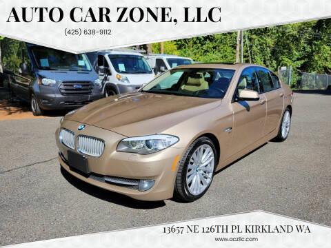 2011 BMW 5 Series for sale at Auto Car Zone, LLC in Kirkland WA