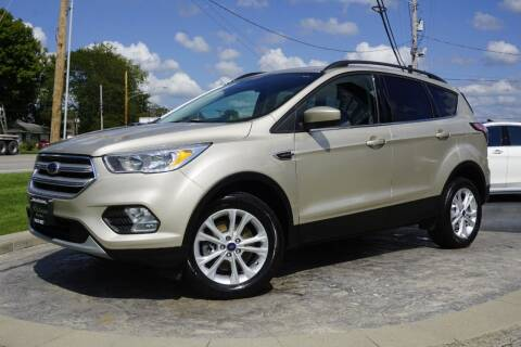 2018 Ford Escape for sale at Platinum Motors LLC in Heath OH