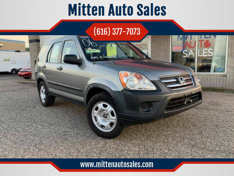 2006 Honda CR-V for sale at Mitten Auto Sales in Holland MI