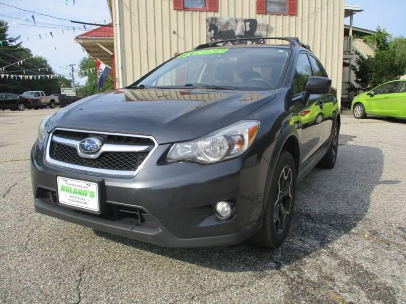 2015 Subaru XV Crosstrek for sale at Roland's Motor Sales in Alfred ME