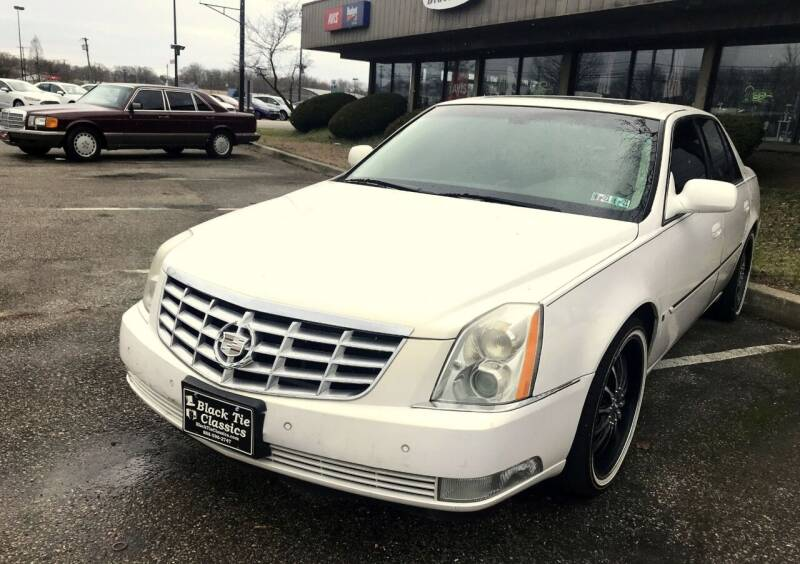 2006 Cadillac DTS for sale at Black Tie Classics in Stratford NJ