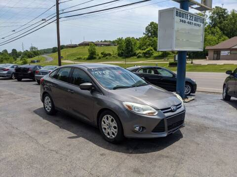 2012 Ford Focus for sale at Route 22 Autos in Zanesville OH