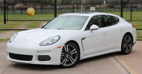 2014 Porsche Panamera for sale at Texas Auto Corporation in Houston TX