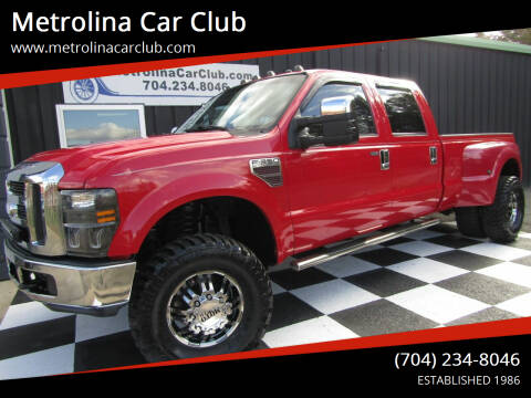 2008 Ford F-350 Super Duty for sale at Metrolina Car Club in Matthews NC