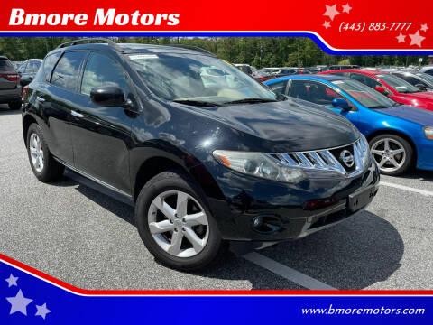 2010 Nissan Murano for sale at Bmore Motors in Baltimore MD
