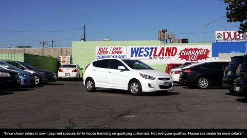 2016 Hyundai Accent for sale at Westland Auto Sales on 7th in Fresno CA