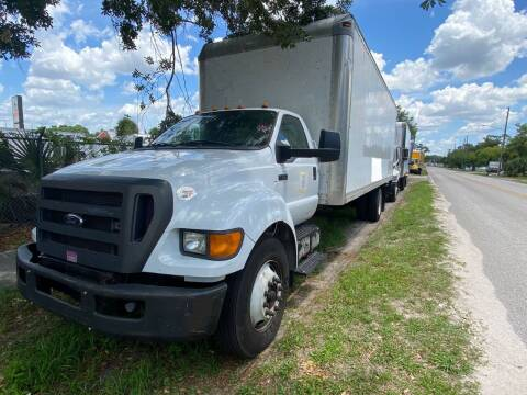 2013 Ford F-750 Super Duty for sale at Orange Truck Sales in Orlando FL