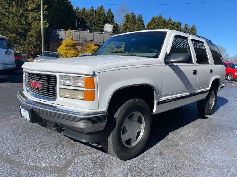 1997 GMC Yukon for sale at Viewmont Auto Sales in Hickory NC