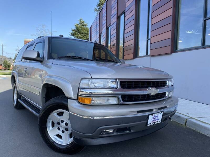 2005 Chevrolet Tahoe for sale at DAILY DEALS AUTO SALES in Seattle WA