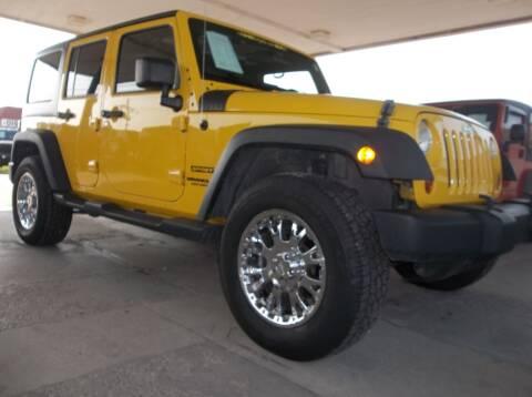 2011 Jeep Wrangler Unlimited for sale at Broken Arrow Motor Co in Broken Arrow OK