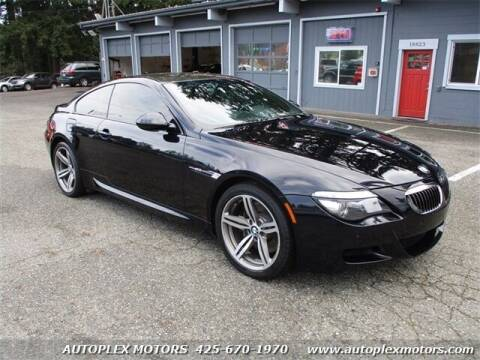 2009 BMW M6 for sale at Autoplex Motors in Lynnwood WA