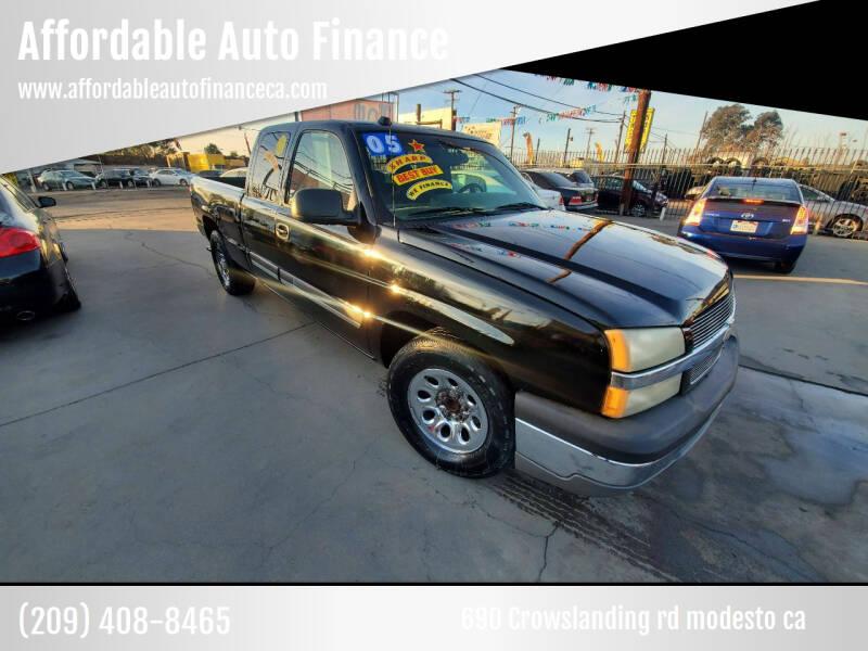 2005 Chevrolet Silverado 1500 for sale at Affordable Auto Finance in Modesto CA
